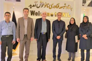 نشست مشترک مرکز ملی تایید صلاحیت ایران و ستاد ویژه توسعه فناوری نانو برای تایید صلاحیت شرکتهای بازرسی کالا