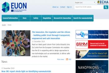 راه اندازی وبسایت اتحادیه اروپا با هدف ارائه موضوعات نظارتی نانومواد