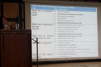 کارگاه آموزشی Health and Safety Practices in Nano Occupational Settings